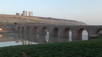 Nature bridges turkey rivers diyarbakir wallpaper