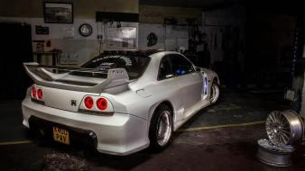 Nissan gtr r32 tuning white wallpaper