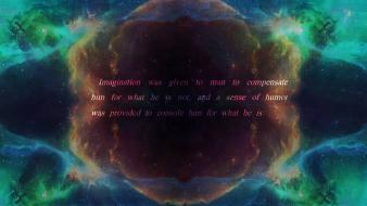 Outer space quotes wallpaper
