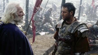 Russel crowe richard harris maximus decimus meridus wallpaper