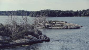 Stockholm sweden islands landscapes sea Wallpaper