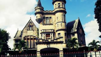 Trinidad abandoned house stollmeyer castle magnificent seven wallpaper