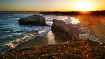 Usa california glass beach fort bragg Wallpaper