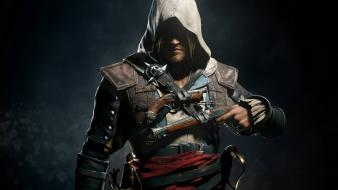 Video games assassins creed 4: black flag wallpaper