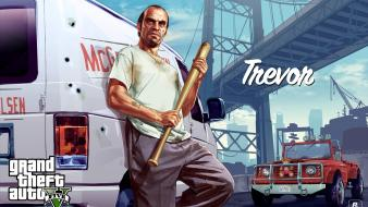 Video games grand theft auto 5 trevor wallpaper