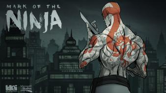 Video games ninjas artwork mark of the ninja wallpaper