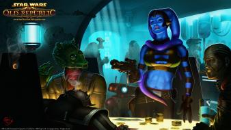 Wars: the old republic twilek video games wallpaper