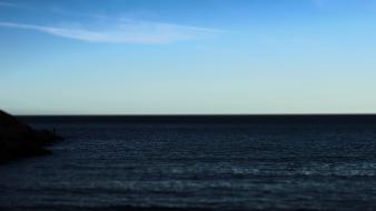 Water ocean horizon waterscapes sea wallpaper