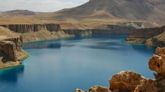 Afghanistan amir band lakes wallpaper