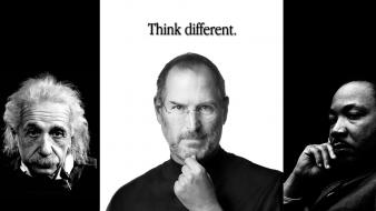 Apple martin luther king steve jobs world Wallpaper
