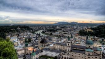 Austria europe cities salzburg wallpaper