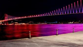 Bridges istanbul bosphorus wallpaper