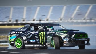Cars ford mustang monster energy 2014 rtr wallpaper