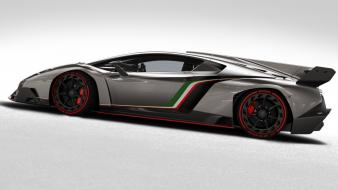 Cars lamborghini side view veneno Wallpaper