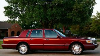 Cars lincoln 1997 town car wallpaper