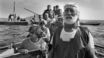 Cuba sebastião salgado beard black and white boats Wallpaper