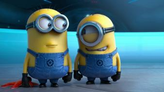 Despicable me film minions movies overalls wallpaper
