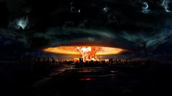 Explosions nuclear explosion wallpaper