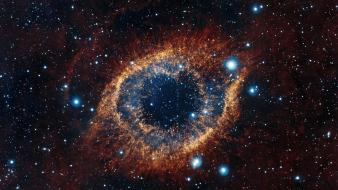 Eyes outer space stars eye wallpaper