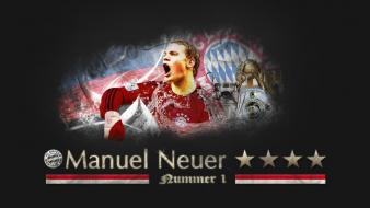 Football stars bayern goalkeeper manuel neuer wallpaper
