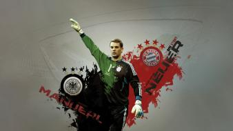 Football stars goalkeeper manuel neuer bayern munchen wallpaper