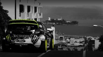 Ford ken block vehicles fiesta wrc wallpaper