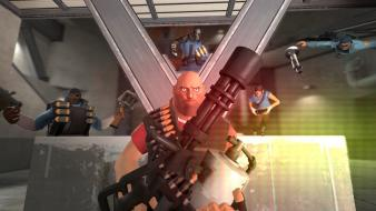 Heavy team fortress 2 artistic battles wallpaper