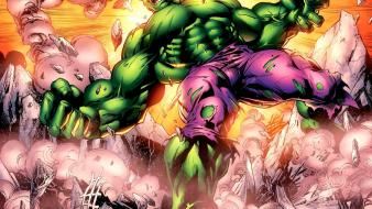 Hulk (comic character) artwork Wallpaper