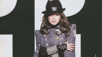 Japanese ayumi hamasaki singers photo shoot stills wallpaper