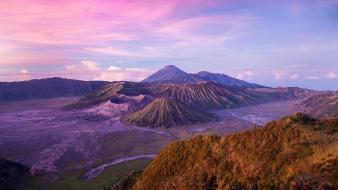 Landscapes indonesia skies wallpaper