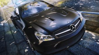 Mercedes sl65 amg black series auto cars wallpaper