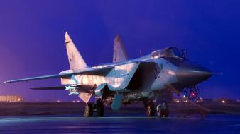 Mig-31 foxhound aircraft wallpaper