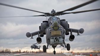 Mil mi-28 helicopters wallpaper