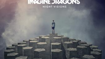 Music cover album imagine dragons night visions wallpaper