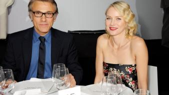 Naomi watts christoph waltz Wallpaper