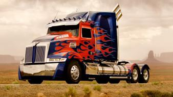 Optimus prime transformers 4 wallpaper