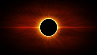 Solar eclipse wallpaper