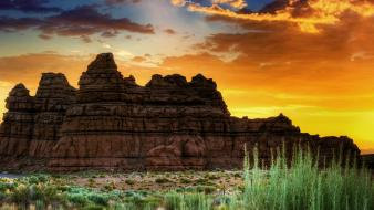 Sunrise landscapes utah wallpaper