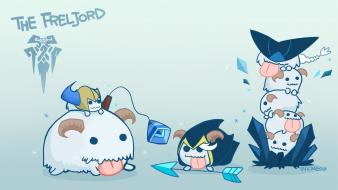 Video games league of legends poro wallpaper