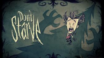 Video games survival dont starve don't klei entertainment wallpaper