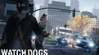 Video games ubisoft vehicles police cars watch dogs wallpaper