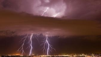 Weather national geographic lightning wallpaper
