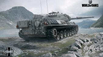 World of tanks leopard 1 wallpaper