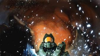 Xbox cortana halo master chief artwork 4 wallpaper