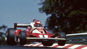 1976 ferrari formula one germany grand prix wallpaper