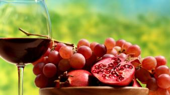 Abstract multicolor fruits alcohol wine bright charm colors wallpaper