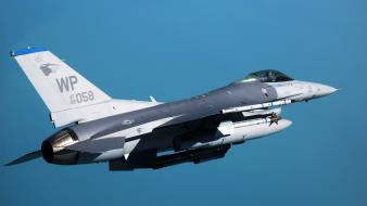 Aircraft war f-16 fighting falcon wallpaper
