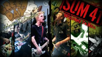 Armstrong pop sum 41 rock deryck whibley wallpaper