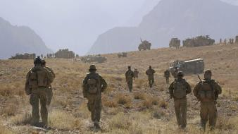 Australian ridge isaf army uzurgan ambush taliban wallpaper