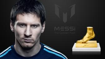 Awards fc barcelona golden foot lionel messi wallpaper